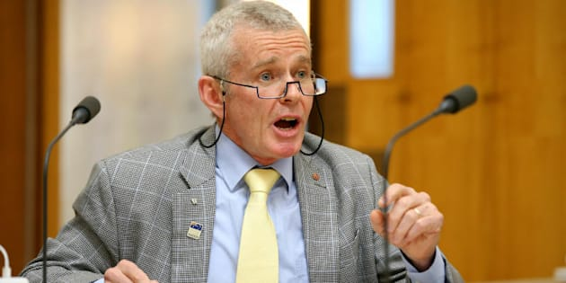 "One Nation Senator Malcolm Roberts gave the Greens a ""lesson on science and logic""."