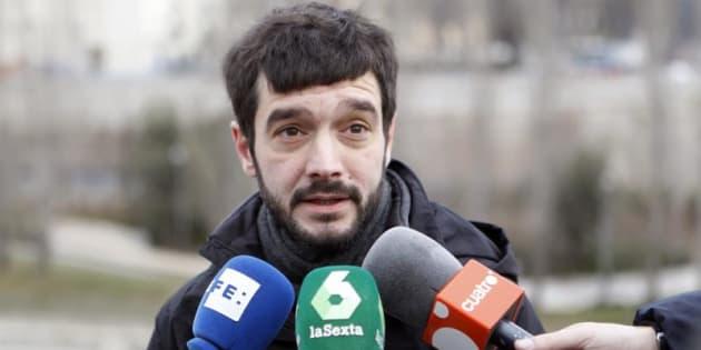 El diputado de Podemos, Pablo Bustinduy. EFE/Archivo