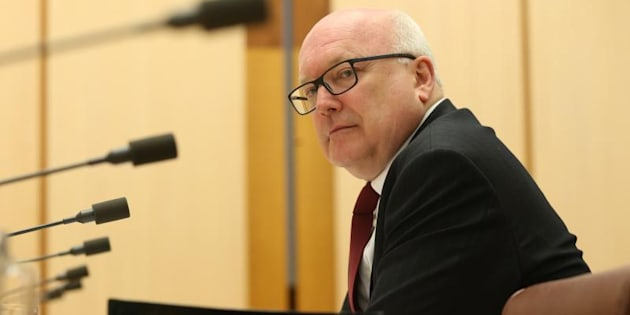 "Attorney-General George Brandis says the Solicitor-General's resignation was the ""proper course of action""."