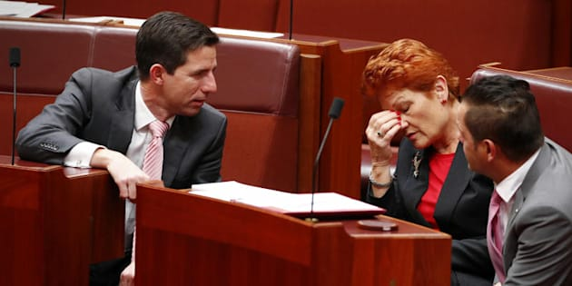 Senator Pauline Hanson said children with disabilities or autism should be removed from mainstream classrooms.