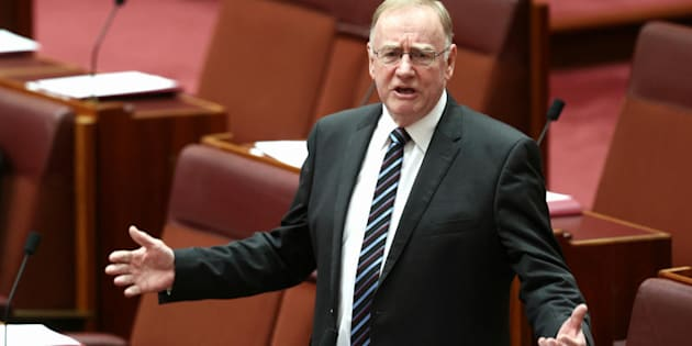 Senator Ian Macdonald did NOT appear in a Sydney court today. He was in the Senate.