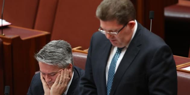 Senator Scott Ryan says the High Court is the appropriate place to resolve the Bob Day and Rod Culleton disputes