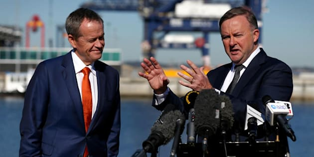 Labor's Anthony Albanese takes issue with Bill Shorten's ...