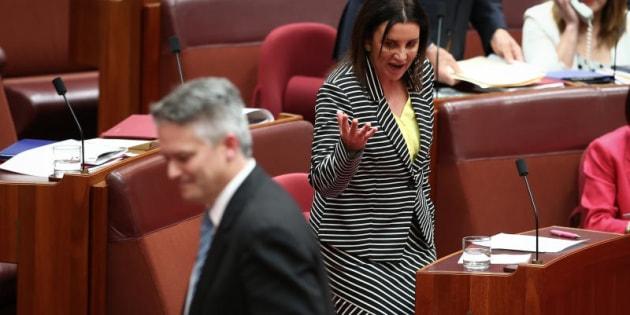 """Senator Jacqui Lambie: """"I think they I are finished."""""""