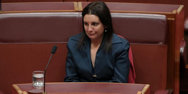 "Jacqui Lambie: ""It has been an absolute pleasure to represent my country again. Just not this time in uniform."""