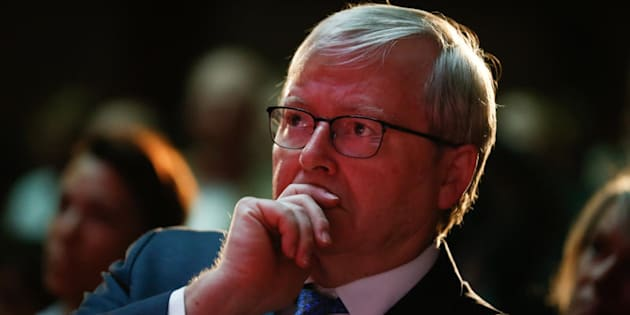 "Former Prime Minister Kevin Rudd: ""What you now have is three years worth of subsequent abuse of that agreement by these people""."