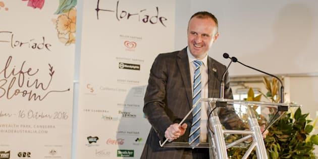"""Chief Minister Andrew Barr is appealing to the """"progressive heart of Canberra."""""""