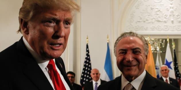 Michel Temer embarca para os EUA, onde se reunirá com Donald Trump