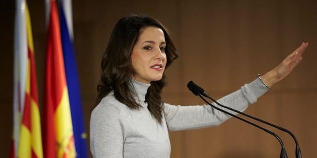 Inés Arrimadas, candidata de Ciudadanos.
