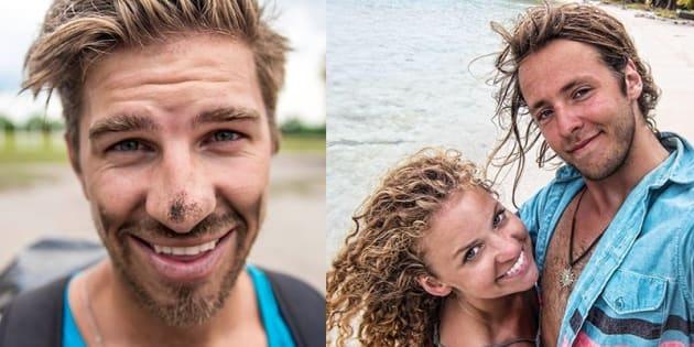 Ryker Gamble, Megan Scraper et Alexey Lyakh