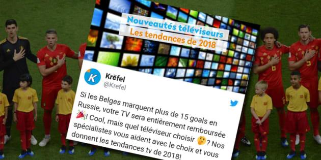 Belgique : les télés remboursées !