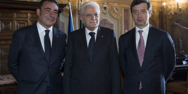 EUGENIO ALBAMONTE SERGIO MATTARELLA ANDREA ORLANDO