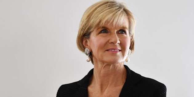 """Foreign Affairs Minister Julie Bishop: """"The Australian Government is committed to the promotion and delivery of sexual and reproductive health services."""""""