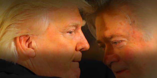 Pour Steve Bannon, l'éminence grise de Donald Trump, l'apocalypse est proche et la guerre inévitable