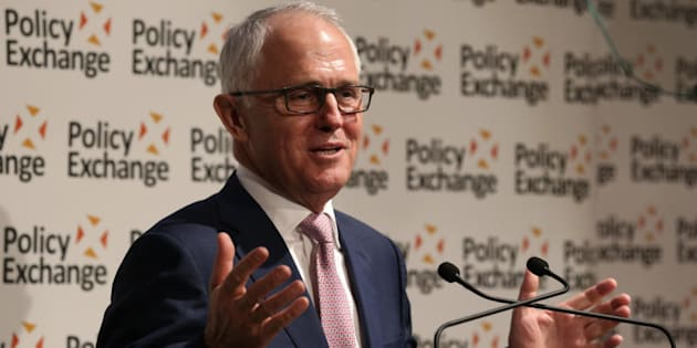 Prime Minister Malcolm Turnbull addressed Policy Exchange and was awarded the Disraeli Prize in London.