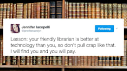 Badass Librarian Tracks Down 'Hackers,' Clears Student's