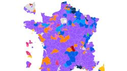 Les résultats du 1er tour des législatives près de chez