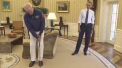 Bill Murray étrille Obama au mini golf pour passer un message