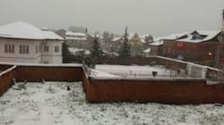 PHOTOS: Kashmir Is Covered In Snow On A Day In