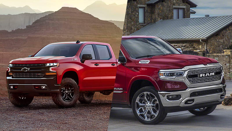 All The 2019 Ram 1500 And Chevy Silverado Specifications Have Not Yet