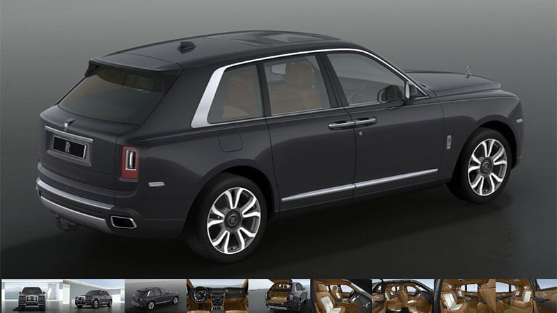 Rolls-Royce Cullinan configurator delivers a near-bespoke experience
