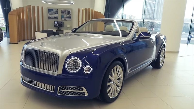 Bentley producing Grand Convertible in grandiose exclusivity