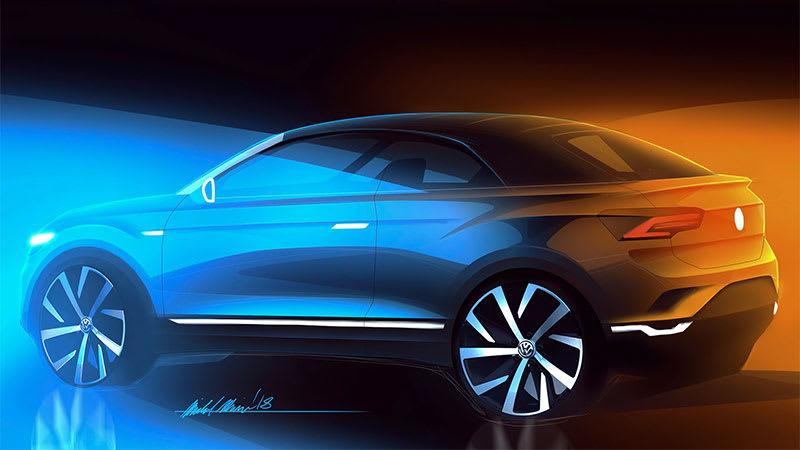 2020 Volkswagen T-ROC concept