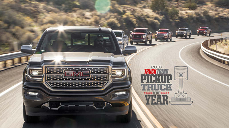 Citing Its Best In Cl Amenities And Technology Truck Trend Magazine Has Named The Gmc Sierra Denali 2016 Pickup Of Year
