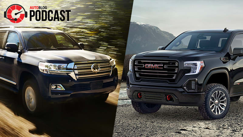 Toyota Land Cruiser, GMC Sierra and the long-term fleet | Autoblog Podcast #558