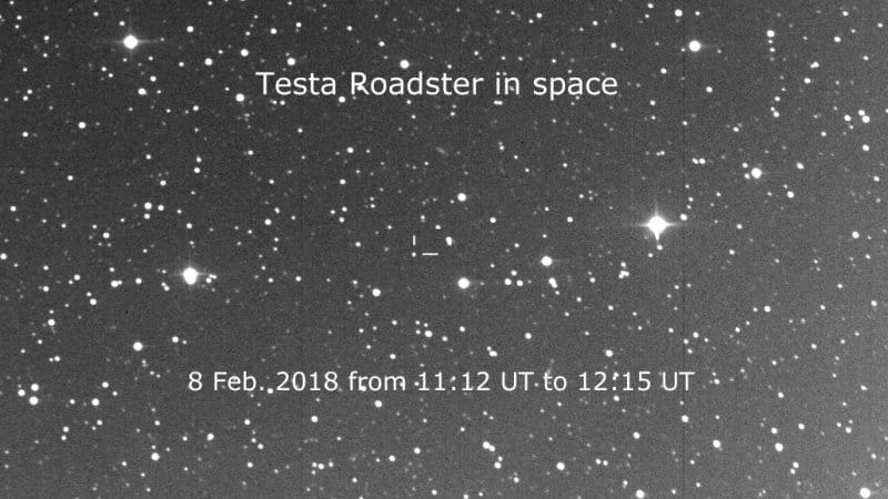 Telescopes Track Tesla Roadster Space Travel Autoblog - Space track