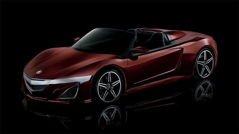 Acura NSX roadster this year? We examine the claim - Autoblog on