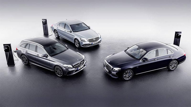 Mercedes Benz Makes Way For Eq Brand Autoblog