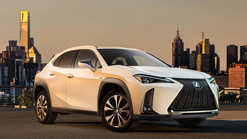 lexus ux crossover will debut at geneva, but here's a photo and