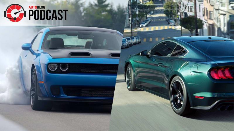 Autoblog Podcast 549 Ford Mustang Bullitt Dodge Hellcat Redeye