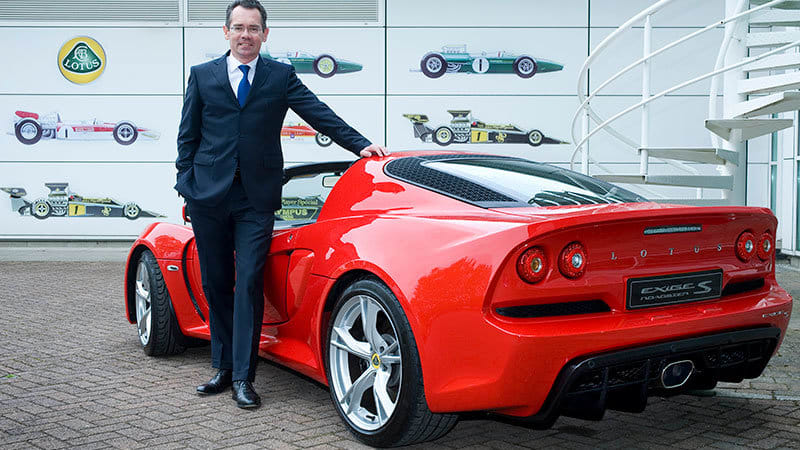 Lotus Ceo Says Brand Will Have 2 New Sports Cars Suv Autoblog