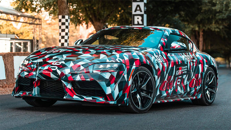 Toyota drops hints on the Supra's torque, weight, and stiffness