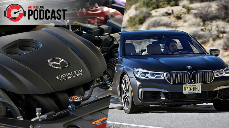 Autoblog Podcast #523 | BMWs, Trackhawk and Mazda's new engine technology