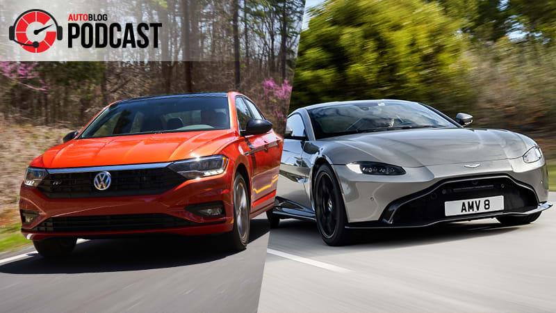 Autoblog Podcast 556 Paris Subaru Aston Martin V8 Vantage Vw