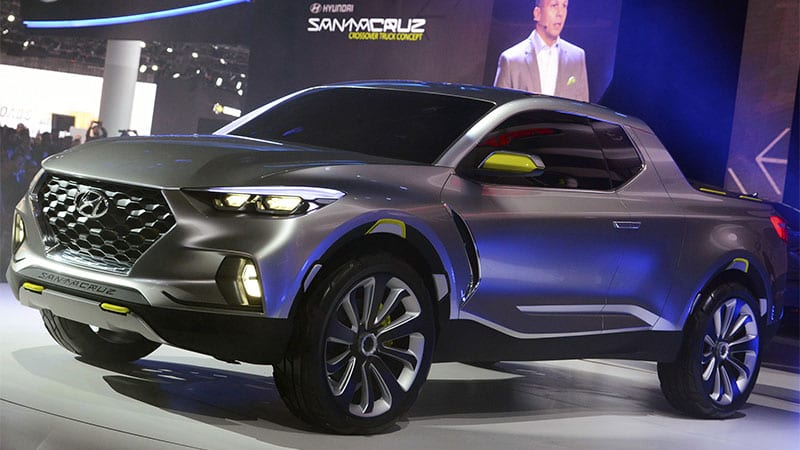 hyundai pickup coming in 2020 with four doors not two autoblog. Black Bedroom Furniture Sets. Home Design Ideas