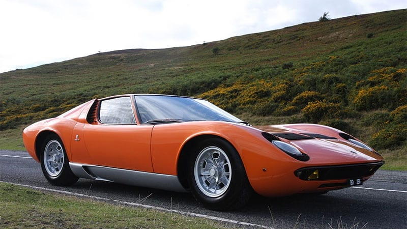 Lamborghini Miura From The Italian Job Is For Sale Autoblog
