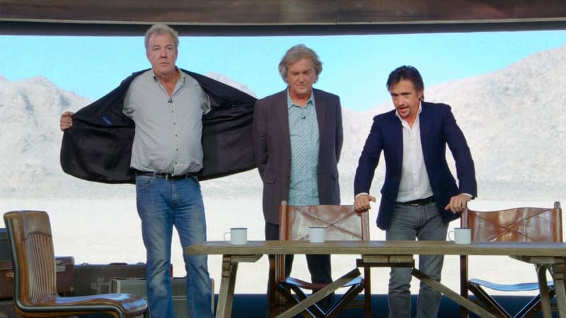 amazon is streaming the grand tour 39 s first episode for free through dec 26 autoblog. Black Bedroom Furniture Sets. Home Design Ideas