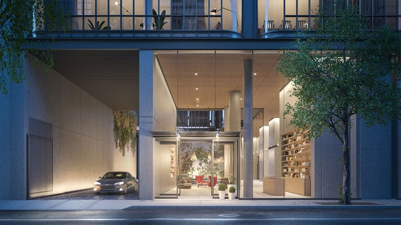 Luxury Nyc Condos Offer Choice Of Car Sharing Or 550 000 Parking