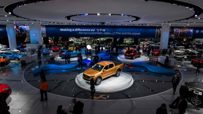Auto Show 2020 Detroit.North American International Auto Show Moving To June In