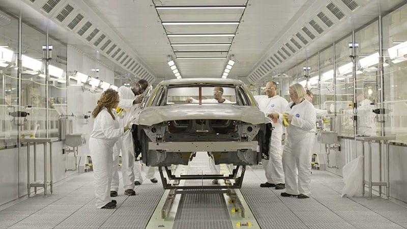 Volvo opens doors to its first U.S. factory near Charleston, South Carolina
