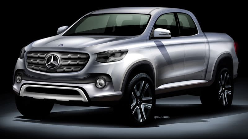 e62535ddbe Mercedes to reveal pickup by year-end - Autoblog