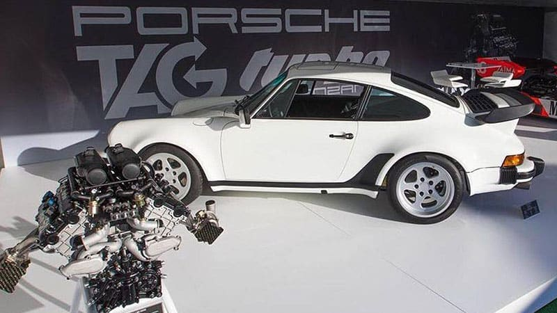 Lanzante building 11 Porsche 930 restomods with actual F1-raced engines