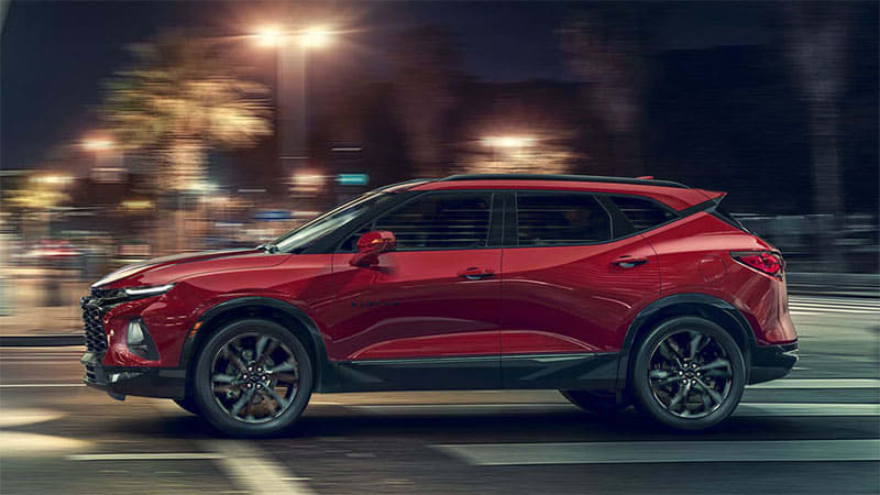 2019 Chevy Blazer Charts A More Stylish Crossover Course