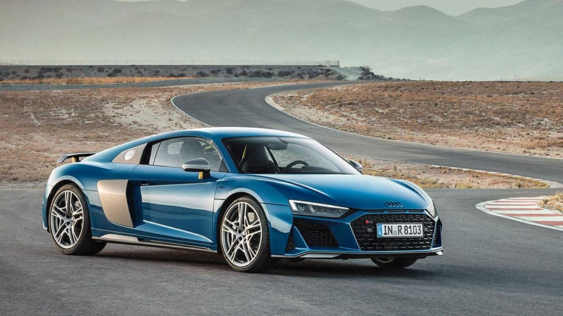 Updated Audi R8 sharpens its styling and reflexes, adds power