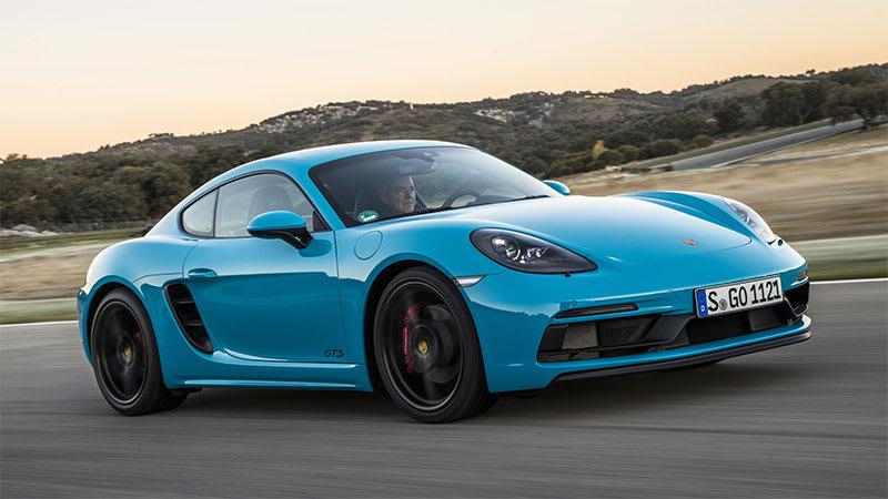 Lighter, more powerful Porsche Cayman T due next year