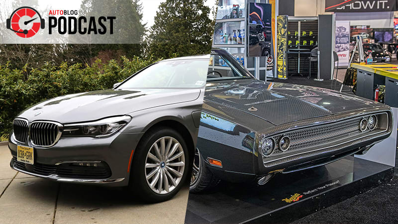 Plug-in BMWs, long-term updates and the best of SEMA 2018   Autoblog Podcast #560